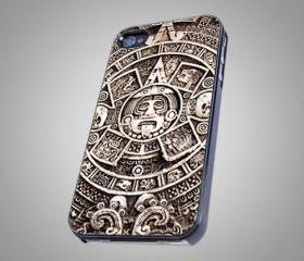 For iPhone 5 - Mayan calende - Photo on Hard Cover
